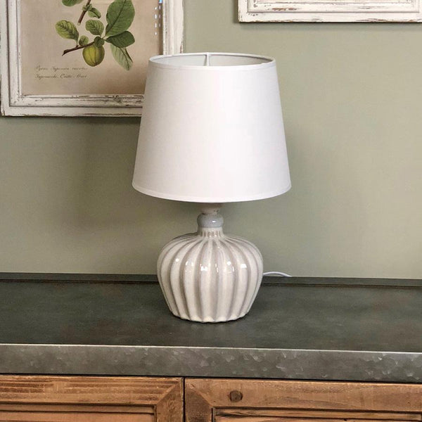 Distressed Moreton Table Lamp & Shade | The Farthing  1