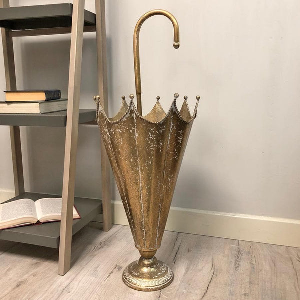 Distressed Umbrella Stand - Steel | Farthing 2