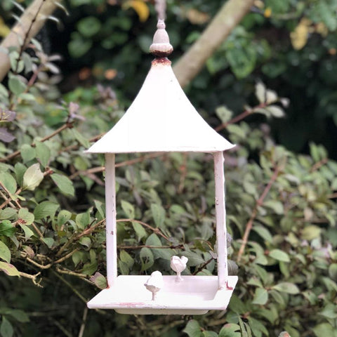 large outdoors uk hanging dp garden bird co amazon feeder ac grey