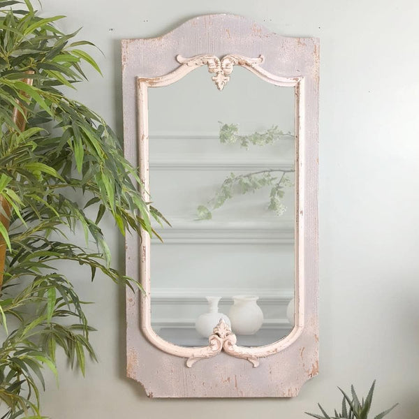 Distressed French Mirror at the Farthing
