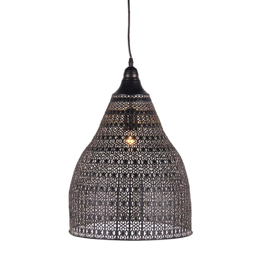 Distressed Moorish Filigree Pendant Light 2