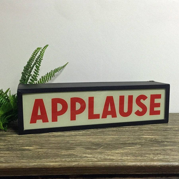 Eclectic Applause Light Box - The Farthing