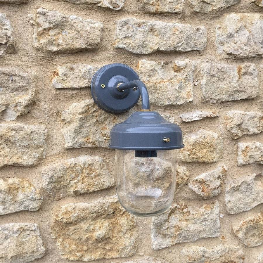 Charcoal Grey Wall Lights : Belfast Wall Light Charcoal vintage outdoor lighting The Farthing
