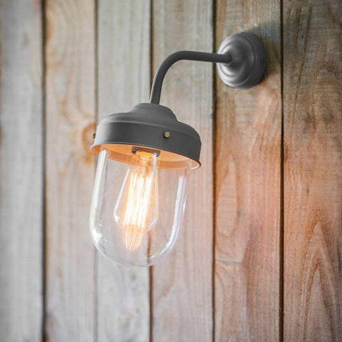 Exterior Metal Big Barn Light - Charcoal