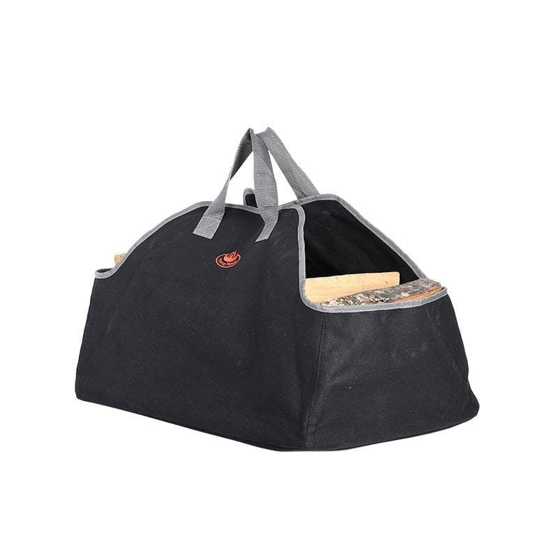 Large Canvas Wood Log Carrier Bag