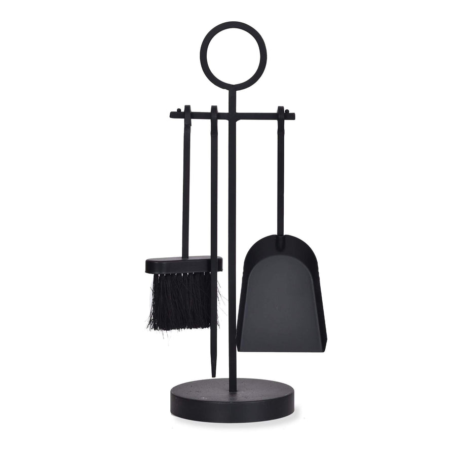 Loop Handle Fireside Companion Set - Black