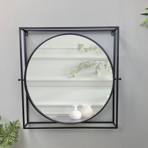Farnborough Industrial Wall Mirror at the Farthing 2
