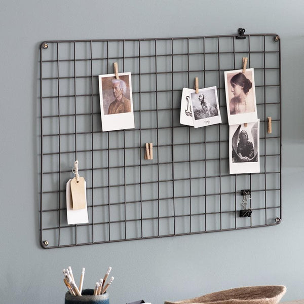 Farringdon Metal Grid Memo Board at the Farthing