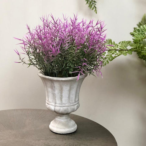 Faux Potted Lilac Grass | Farthing  2