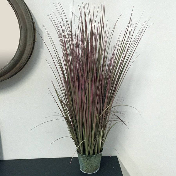 Faux Potted Ornamental Grass - The Farthing