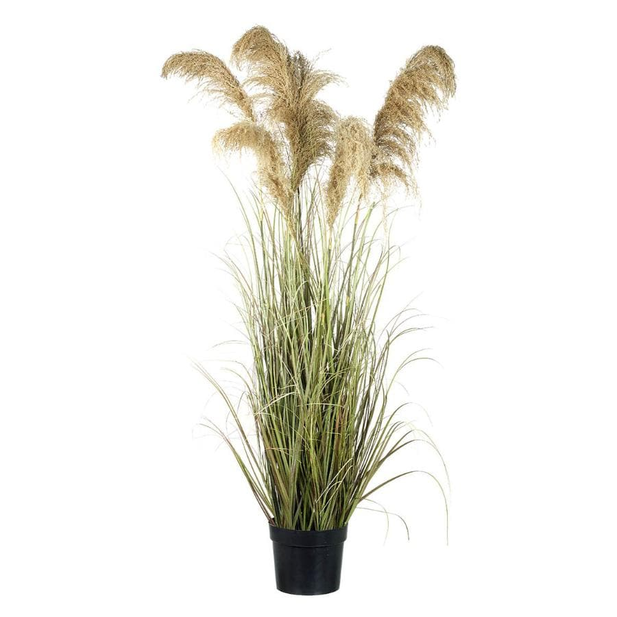 Faux Potted Pampas Grass