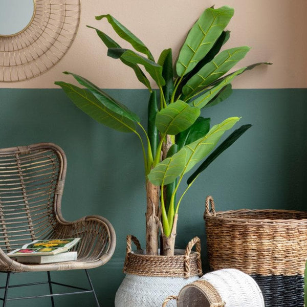 Faux Banana Leaf Palm Tree  at the Farthing