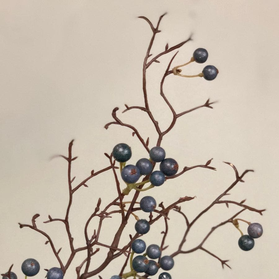Faux Blue Berries Spray at the Farthing 4