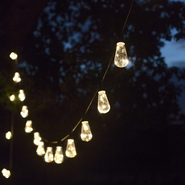 Naked Wire Led Festoon Squirrel Lights - 10 Bulbs