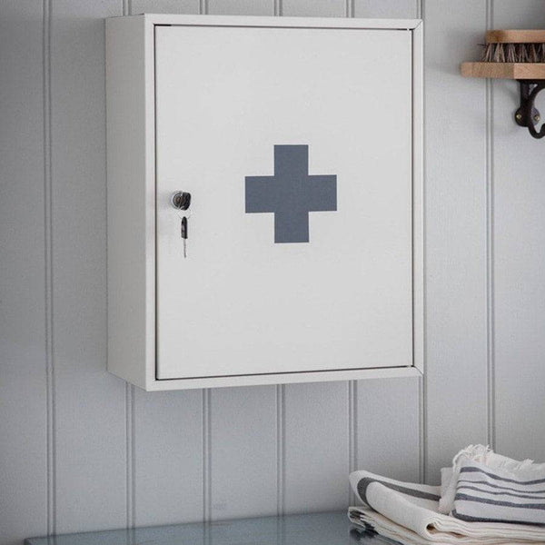 First Aid Wall Cabinet - Chalk at the Farthing