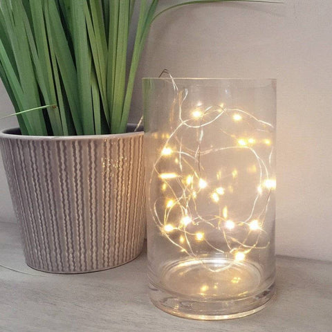 Flickering Light Up Naked Wire 30 LED Garland - The Farthing