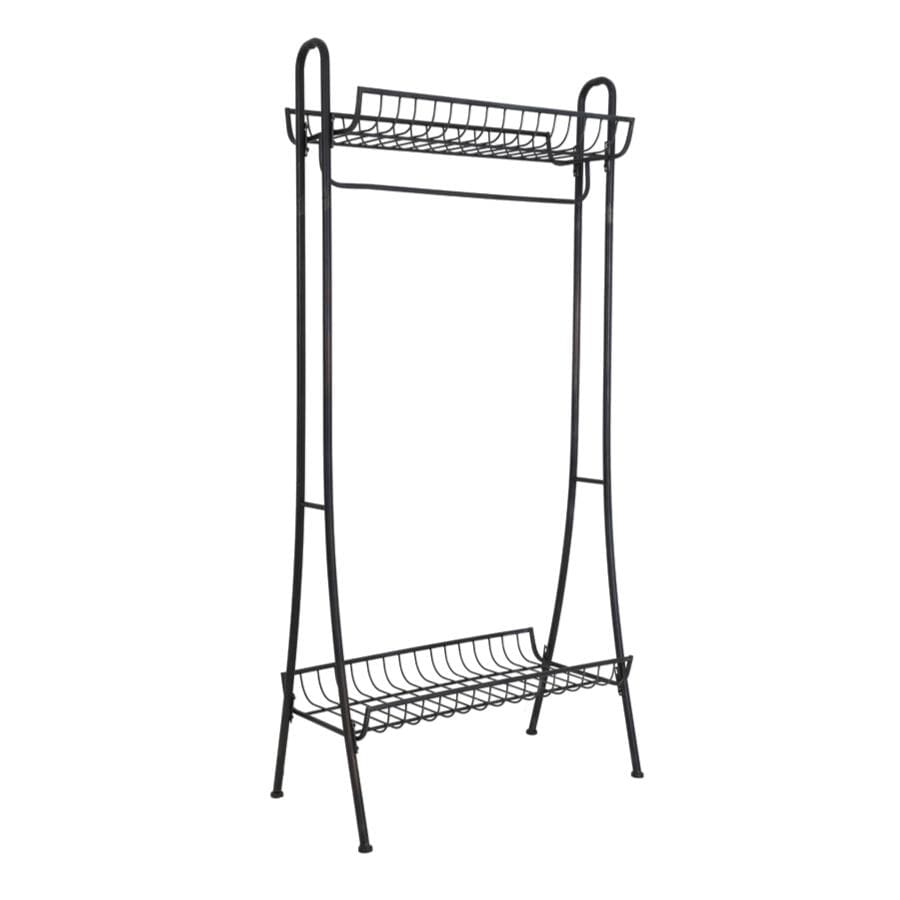 Floor Standing Metal Coat Rail