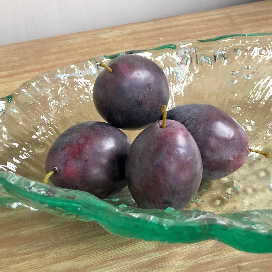 Four Decorative Faux Plums