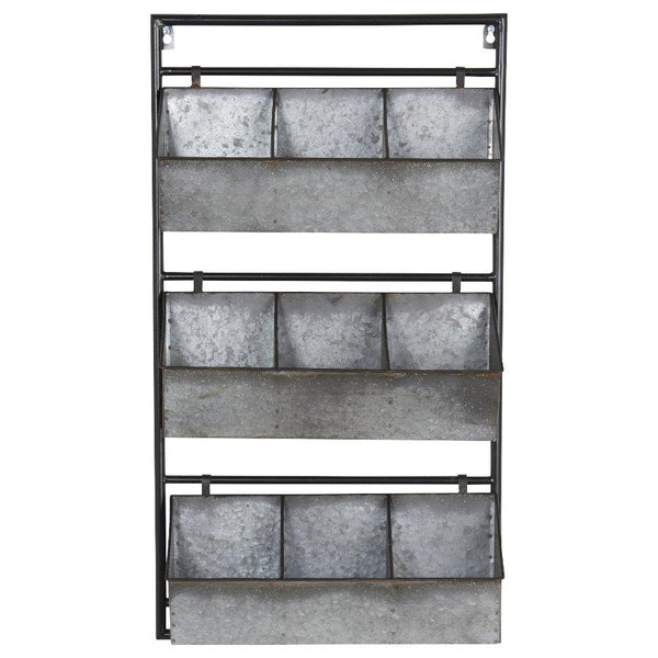 Galvanised Metal Wall Storage Unit at the Farthing