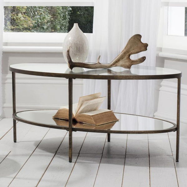 Glass Display Wareham Coffee Table | Farthing
