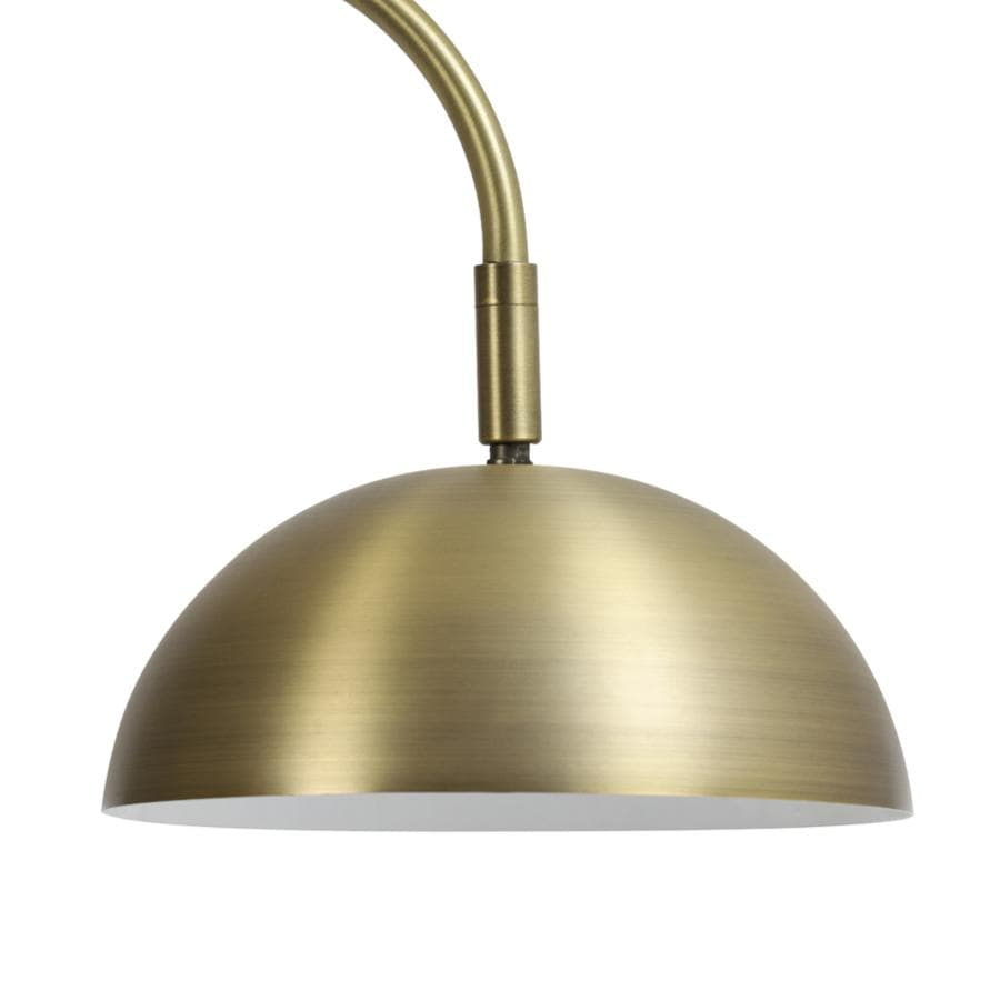 Gold Adjustable Dinton LED Floor Lamp