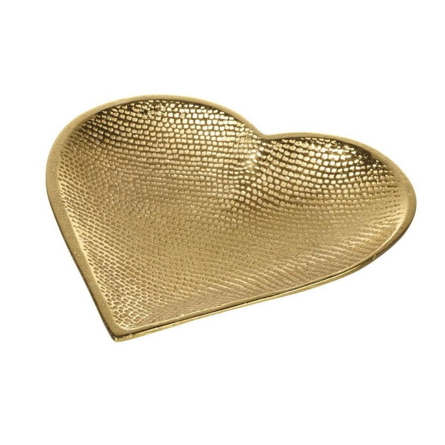 Gold Heart Trinket Dish at the Farthing