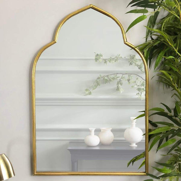 Gold Moorish Wall Mirror at the Farthing 1