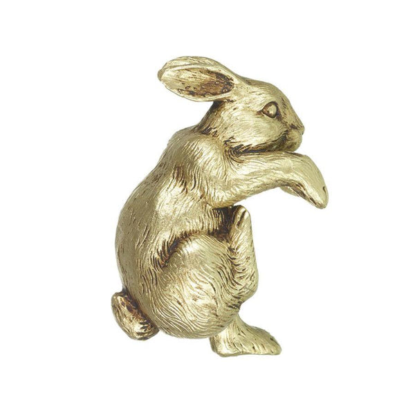 Golden Christmas Rabbit Pot Hanger | The Farthing
