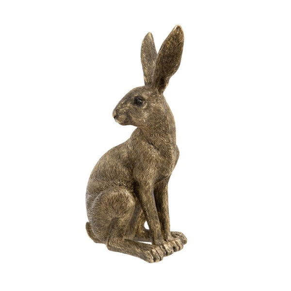 Golden Sitting Hare at the Farthing
