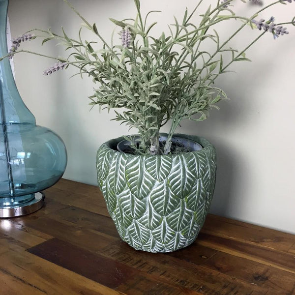 Green Leaf Plant Pot at the Farthing
