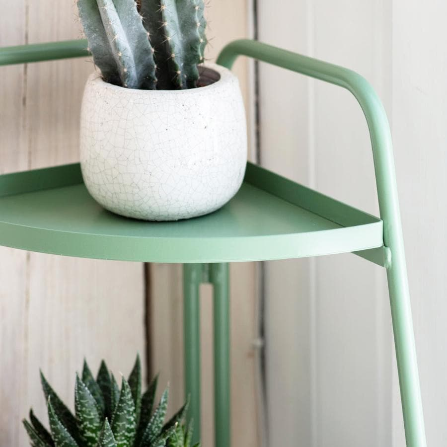 Green Corner Plant Stand at the Farthing