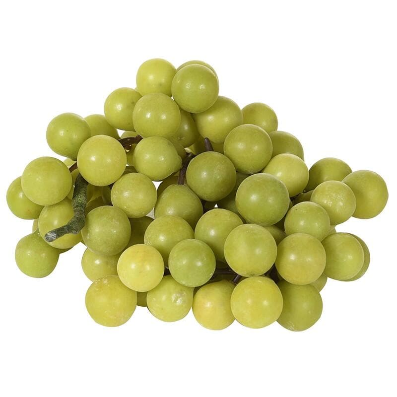 Bunch of Decorative Faux Green Grapes