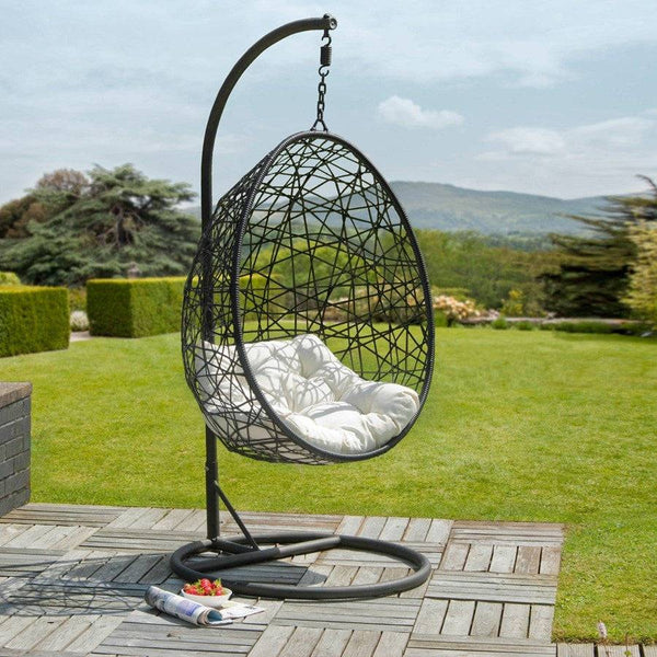 Hanging Indoor Outdoor Egg Chair - The Farthing