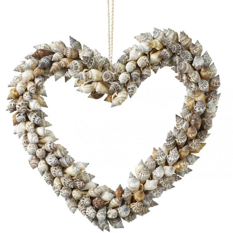 Hanging Shell Heart | Farthing