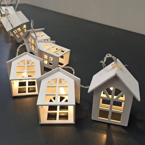 House string Light Garland - The Farthing