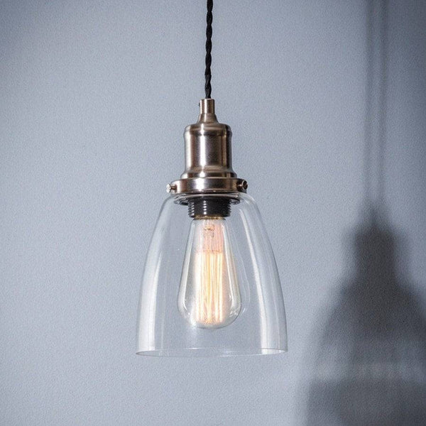 Hoxton Chic Dome Glass Pendant - The Farthing