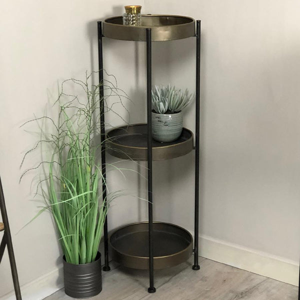Industrial 3 Tiered Side Table | The Farthing 2