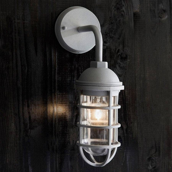 Industrial Chic Chatham Wharf Wall Light - The Farthing