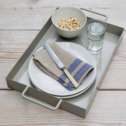 Industrial Chic Paxford Rectangular Tray in Clay - The Farthing