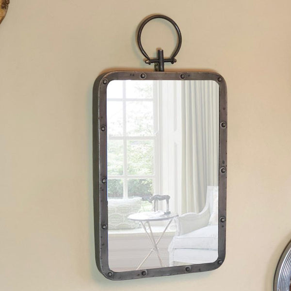 Industrial Factory Wall Mirror at the Farthing