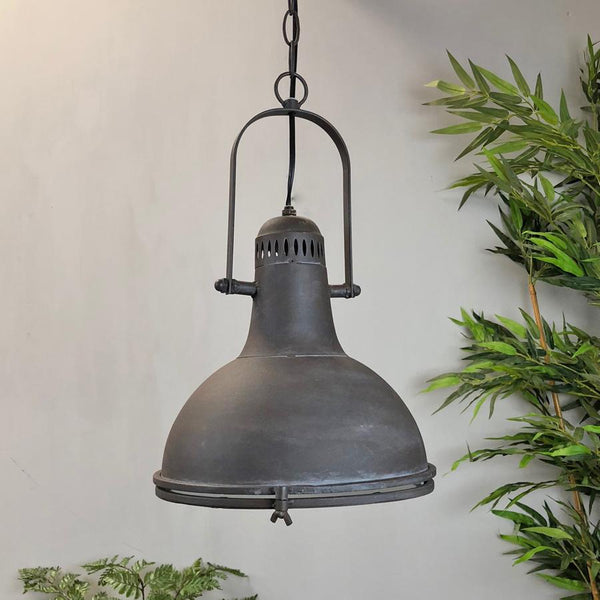 Industrial Metal Factory Pendant Light - The Farthing 2