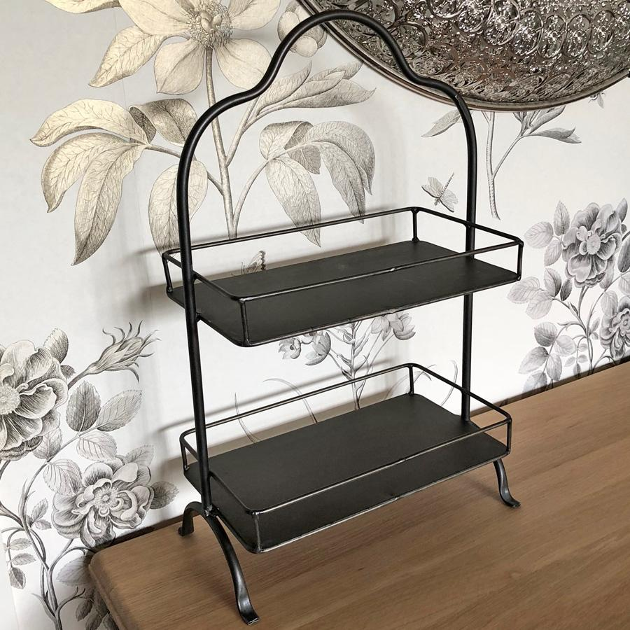 Industrial Metal Table Top Storage Shelves | Farthing