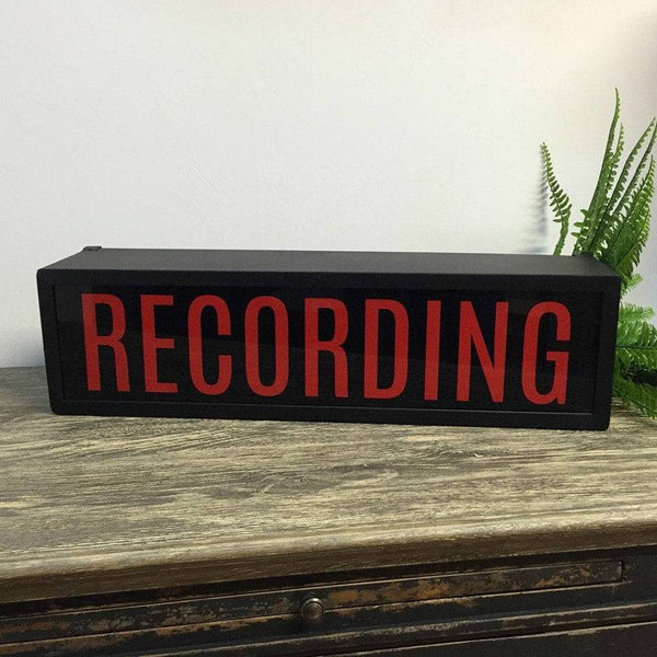 Industrial Recording Light Box - The Farthing