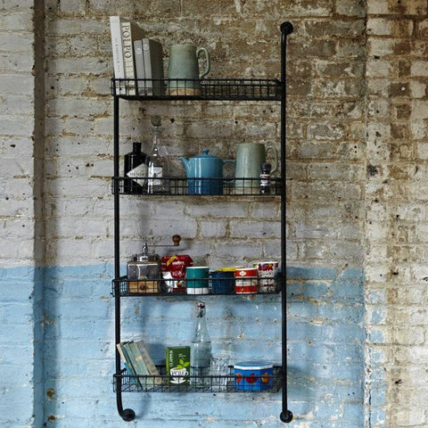The Farthing - Industrial Style Metal Shelves