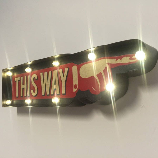 Vintage Style Comedy Applause Light Box