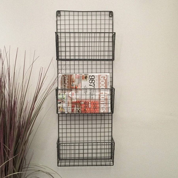 Industrial Wirework Magazine / Letter Storage Rack