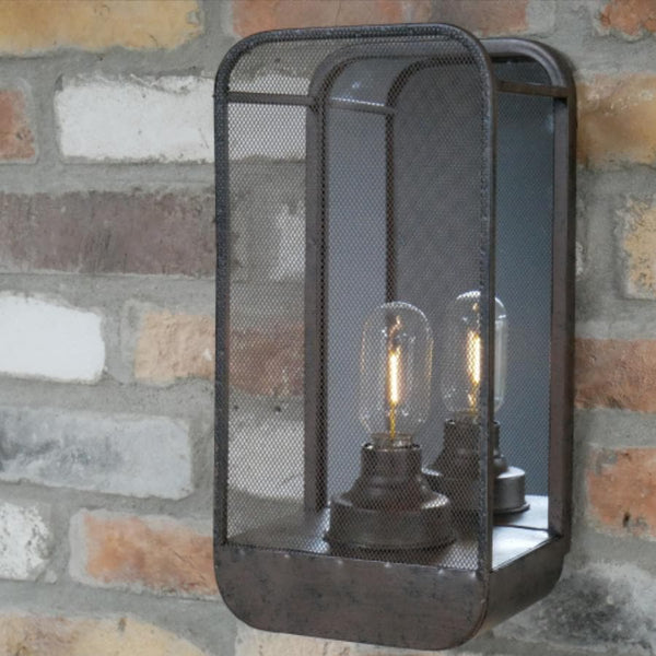 Industrial Battery Powered Wall Light