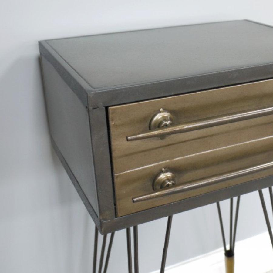 Industrial Bedside Cabinet at the Farthing