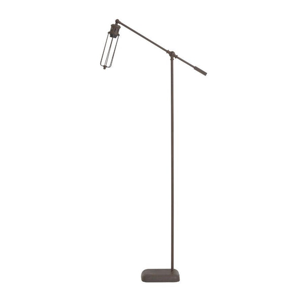 Industrial Chic Metal Factory Floor Lamp - The Farthing