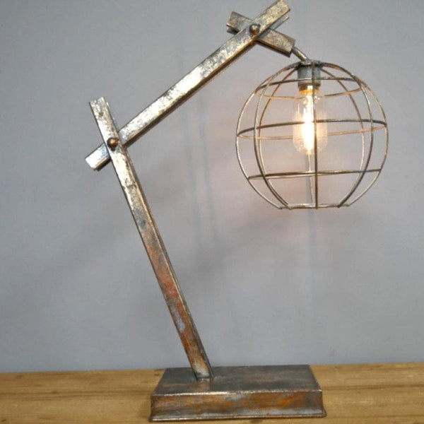 Industrial LED Table Light at the Farthing